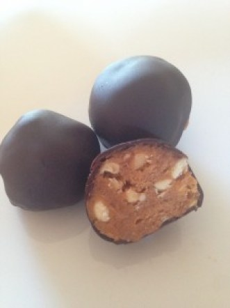 Peanutkonfekt med ekstra protein