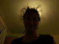 When I don't brush my hair