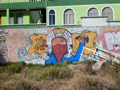 Some grafffiti in Copacabana