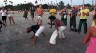 Capoeira on the beach!