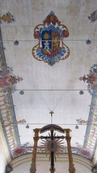 Original roof painting from 16th century :)