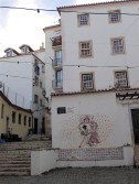 More street art in Alfama