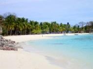 The wonderful beach at Malcapuya