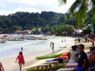 The beach by el Nido town