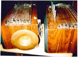 N. Racker's homemade soundboxes