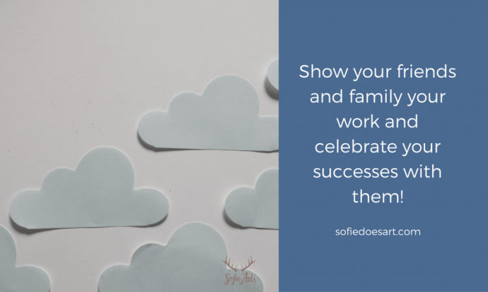 Share your work and celebrate successes!