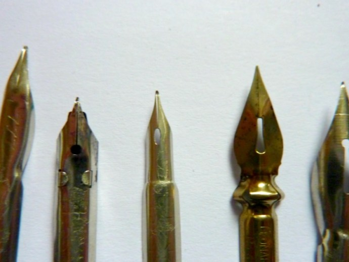 different kind of nibs