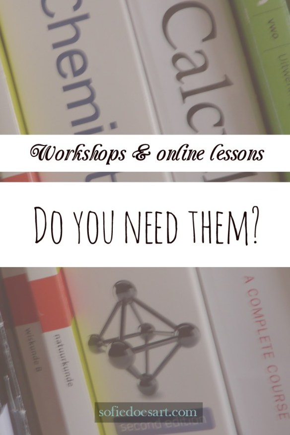 workshops and online lessons, what are they and do you need them? Plus why are they so expensive?