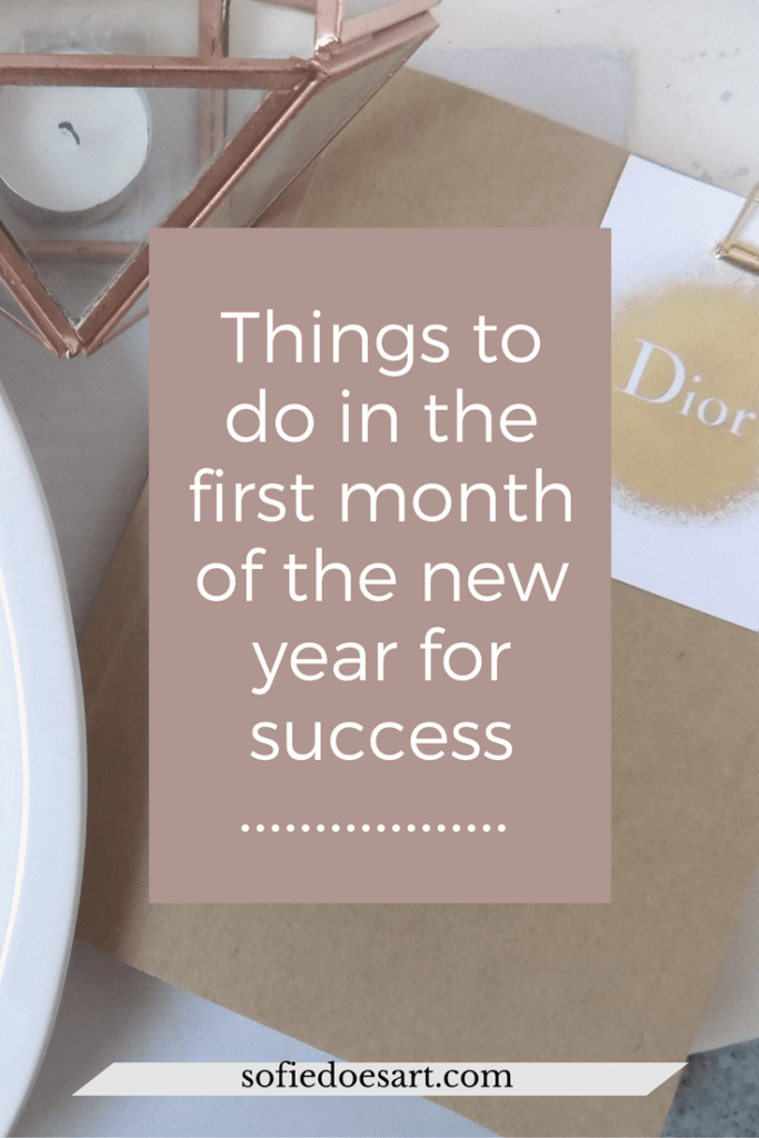 Things To Do In The New Year