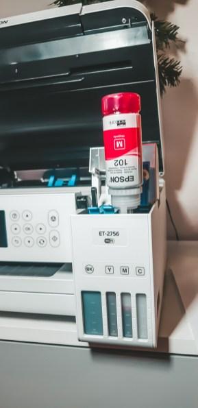 Epson EcoTank Printer, print Ecologisch met veel minder cartridges