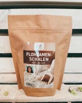 Flohsamen-Schalen