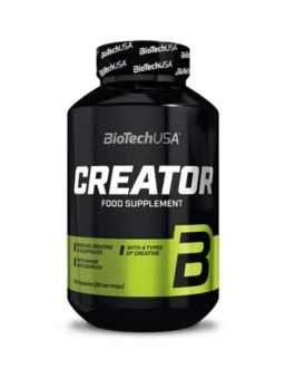 CreaTor, Creatin Komplex 120 Kapseln – BiotechUSA