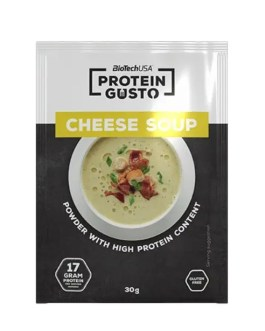 Protein Gusto Cheese Soup 30g – BiotechUSA