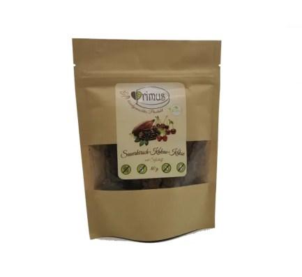 Sauerkirsch-Kakao vegane Kekse