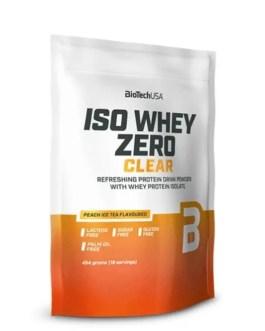 Iso Whey Zero Clear 454g – BiotechUSA