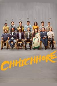 "Poster for the movie ""Chhichhore"""