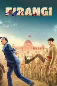 """Poster for the movie """"Firangi"""""""