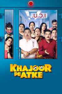 "Poster for the movie ""Khajoor Pe Atke"""