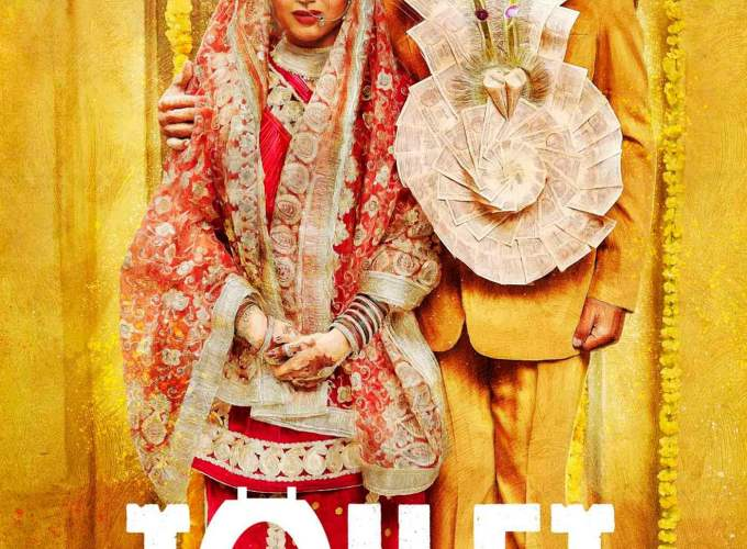 "Poster for the movie ""Toilet - Ek Prem Katha"""
