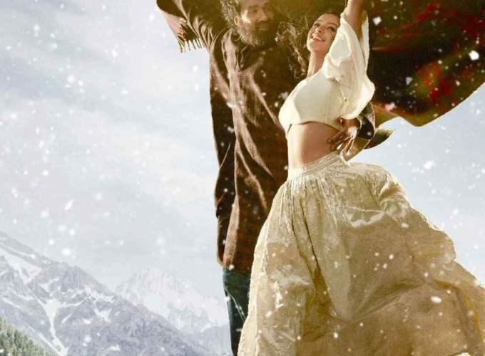 "Poster for the movie ""Laila Majnu"""