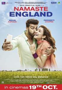"""Poster for the movie """"Namaste England"""""""