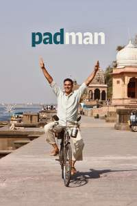"Poster for the movie ""Pad Man"""