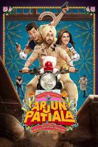 "Poster for the movie ""Arjun Patiala"""