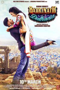 """Poster for the movie """"Badrinath Ki Dulhania"""""""