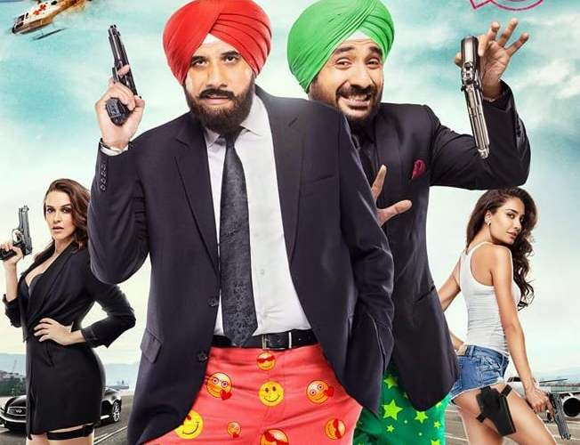 "Poster for the movie ""Santa Banta Pvt Ltd"""