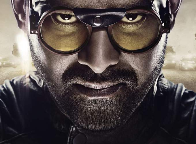 "Poster for the movie ""Saaho"""