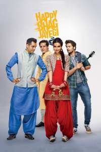 "Poster for the movie ""Happy Bhag Jayegi"""