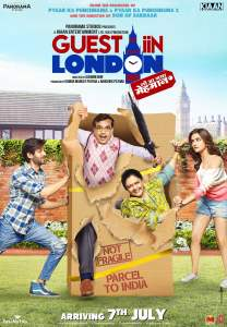 """Poster for the movie """"Guest iin London"""""""