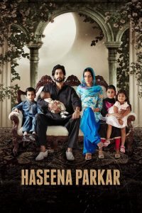 "Poster for the movie ""Haseena Parkar"""