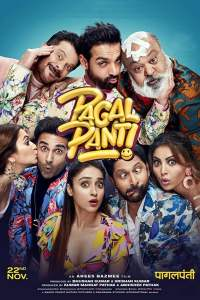"Poster for the movie ""Pagalpanti"""