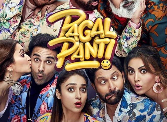 """Poster for the movie """"Pagalpanti"""""""
