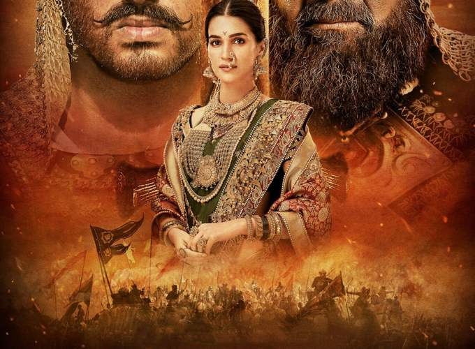 "Poster for the movie ""Panipat"""