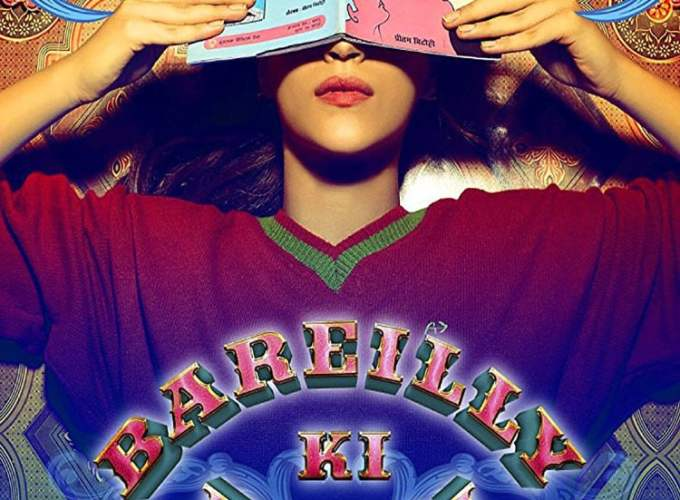 "Poster for the movie ""Bareilly Ki Barfi"""