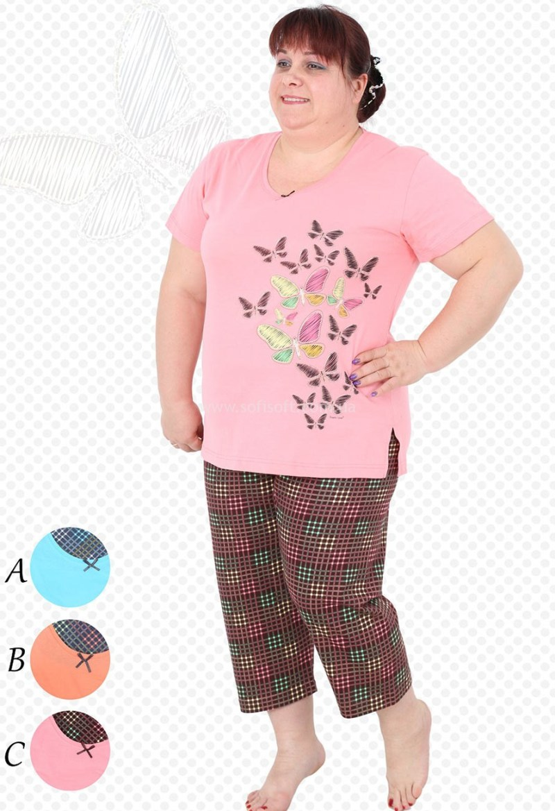 Пижама женская Капри 4006