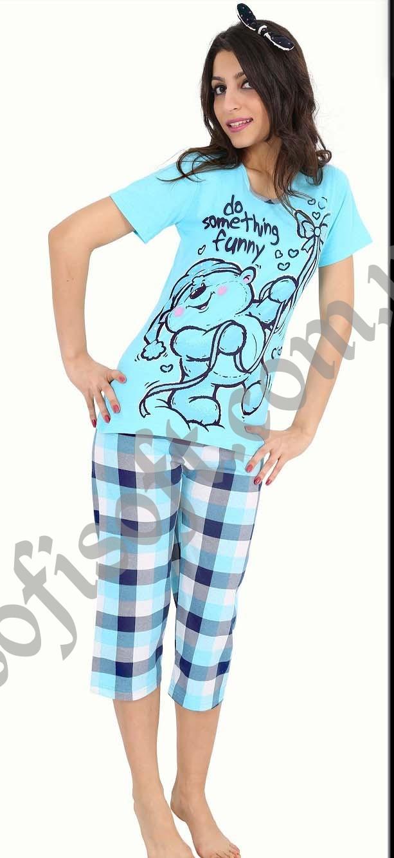 Пижама женская Капри 8680646003690