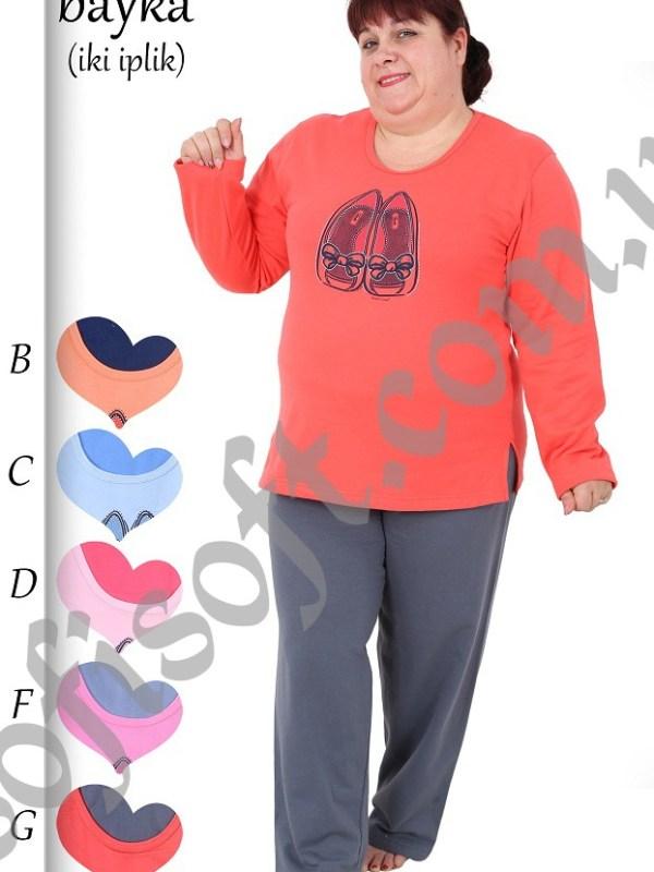 Пижама женская Байка 8680646018502