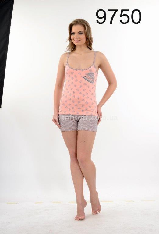 Пижама женская Metin 9750