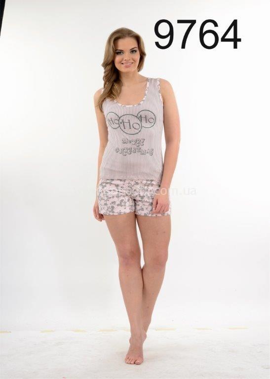 Пижама женская шорты Metin 9764