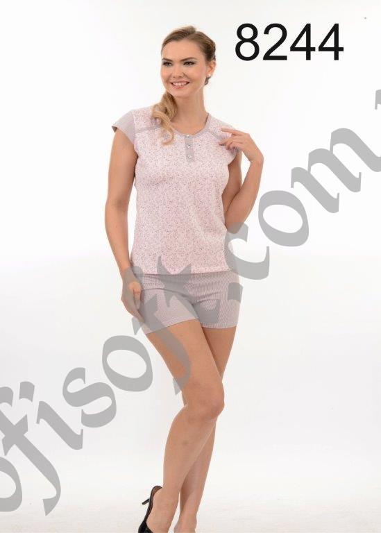Пижама женская шорты Metin 8244