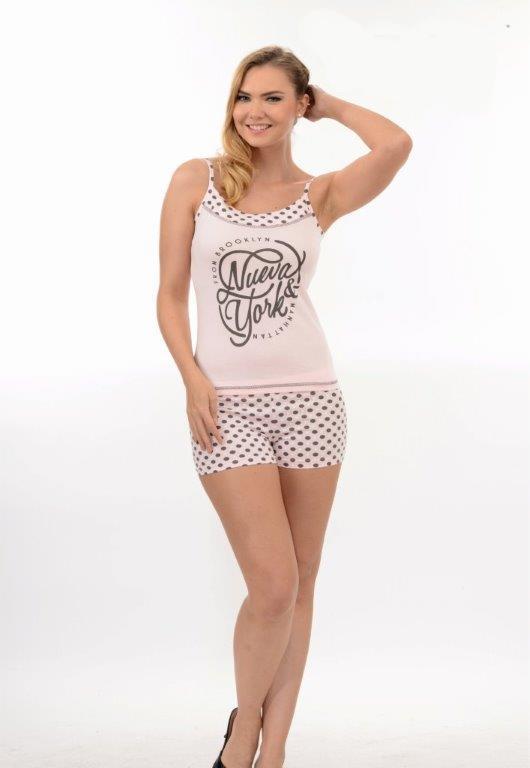 Пижама женская шорты Metin 9548
