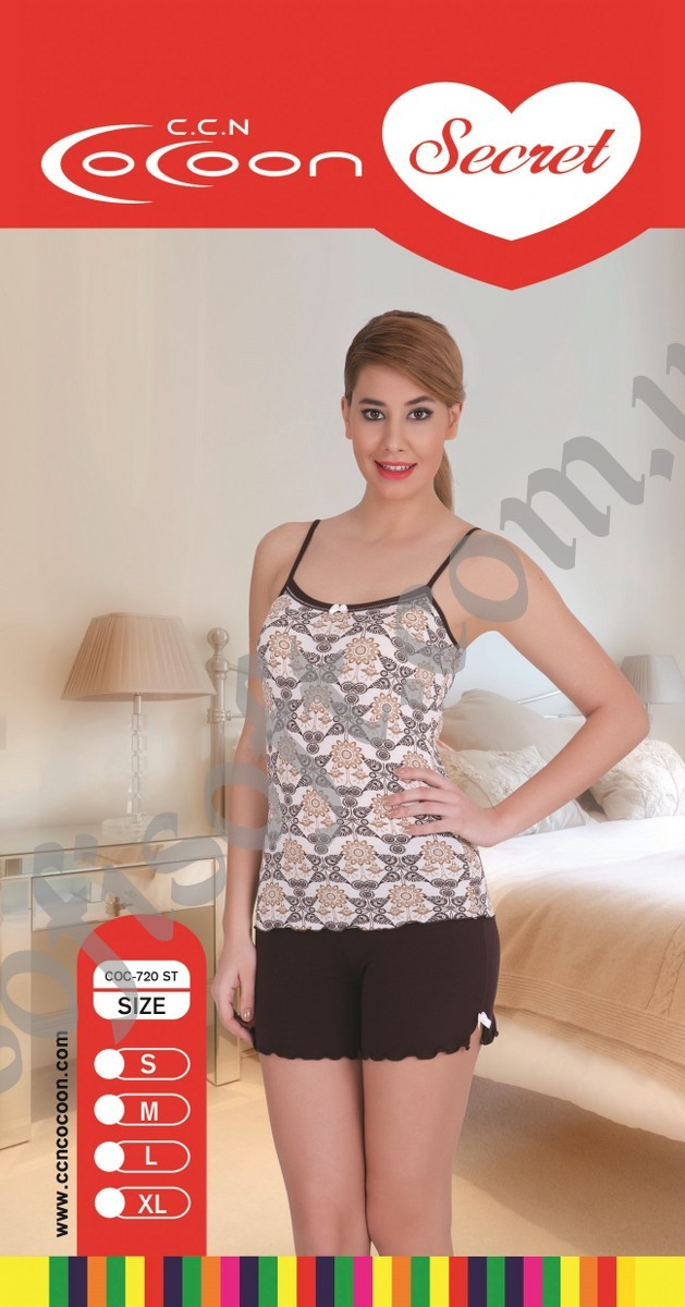 Пижама женская шорты Cocoon 720 ST