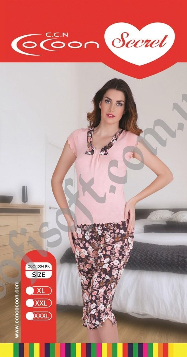 Пижама женская капри Cocoon 1004 KK