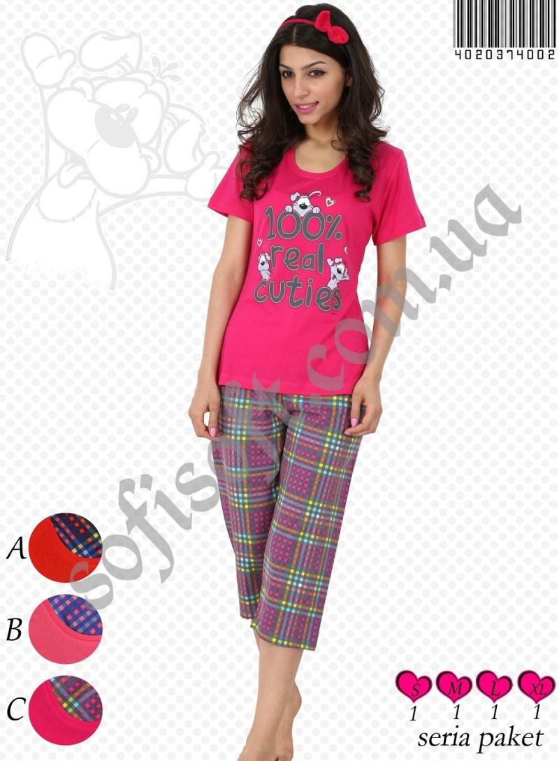 Пижама женская Капри 4020374002