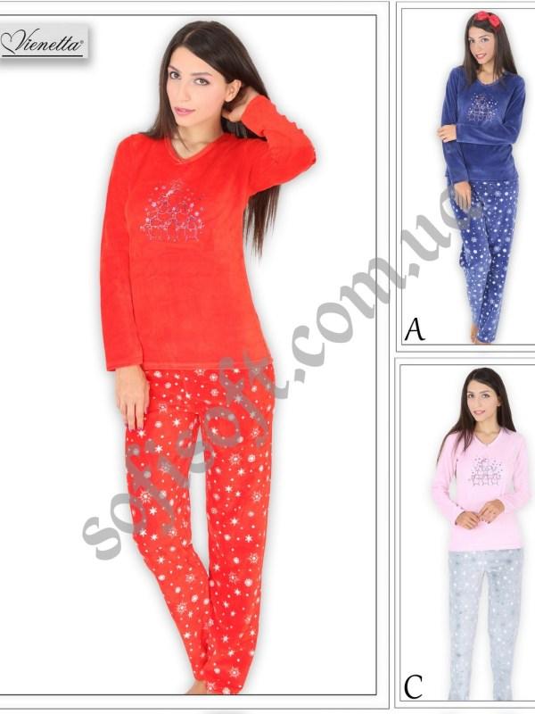 Пижама женская велюровая 5040144507