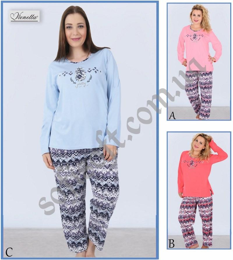Пижама женская брюки 5041224375