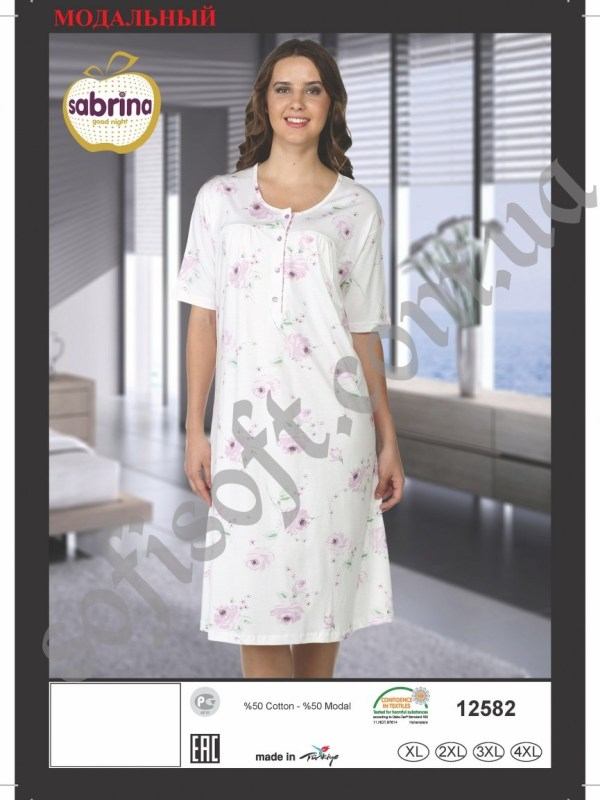 Ночная рубашка SAB.V 12582 LIL